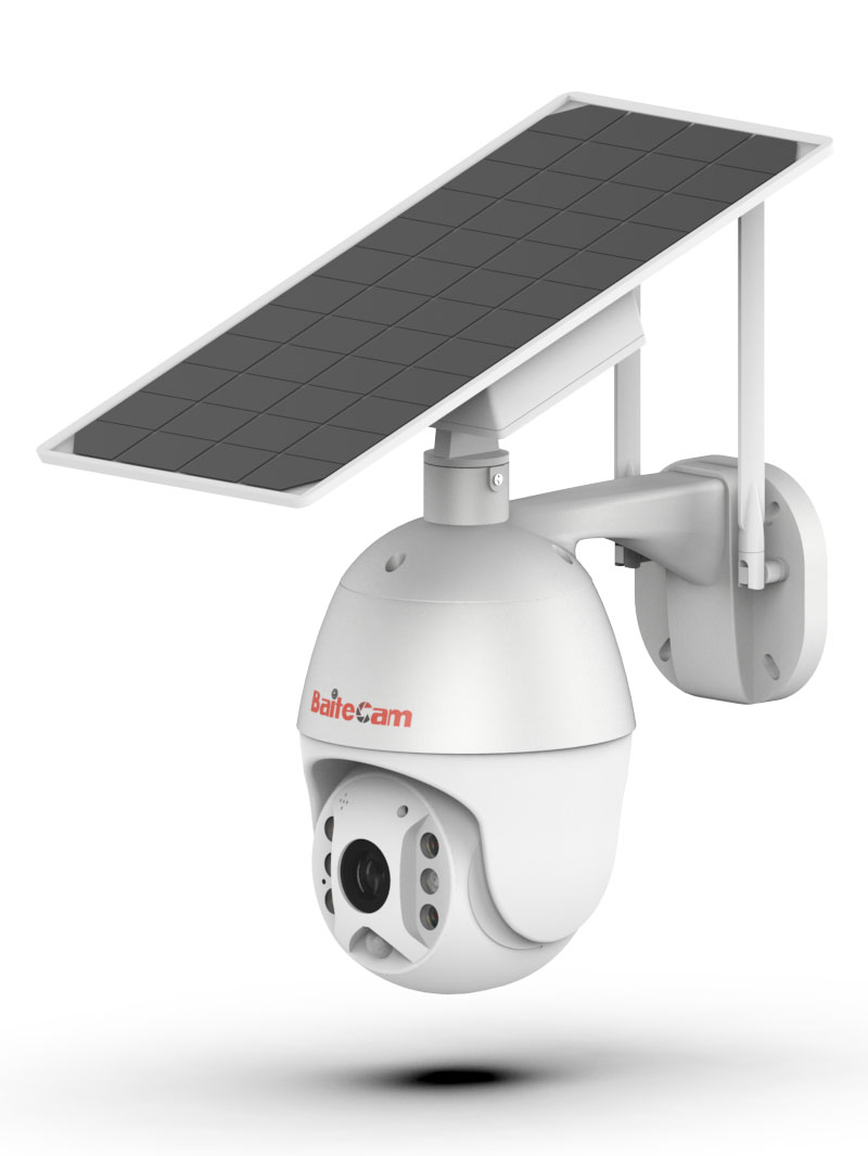 PTZ solar ip camera BC305 - perspective